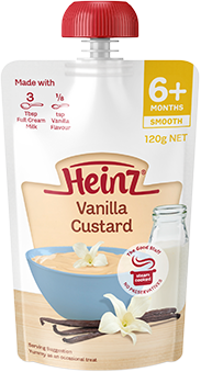 Heinz Pouch Food - Vanilla Custard