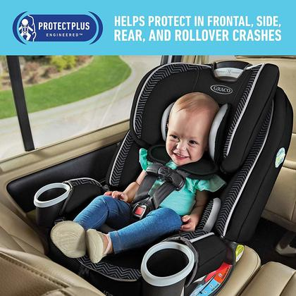 4Ever® DLX 4-in-1 Car Seat Zagg