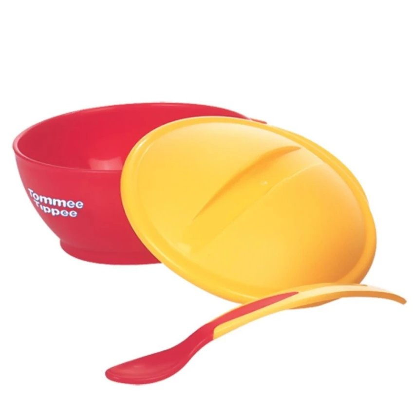 Tommee Tippee Explora Bowl Weaning Big with Heat Sensing Spoon