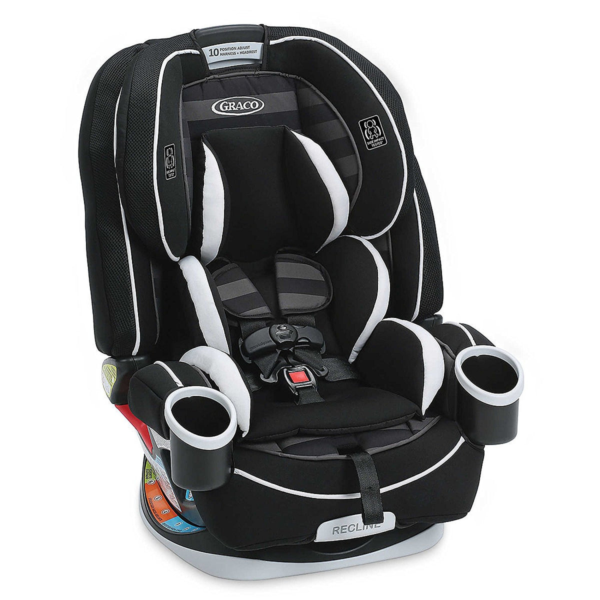 Graco 4ever all in one convertible car seat babydots for Silla 4ever graco