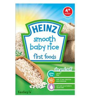 Heinz Smooth Baby Rice - Baby First Food (6m+)