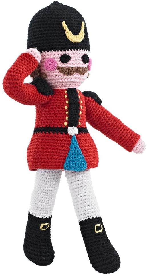 Pebble Hand Crochet Nutcracker