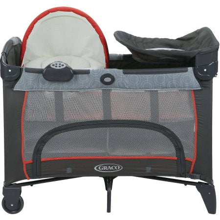 Graco Pack N Play Newborn Napper Dlx Solar Collection