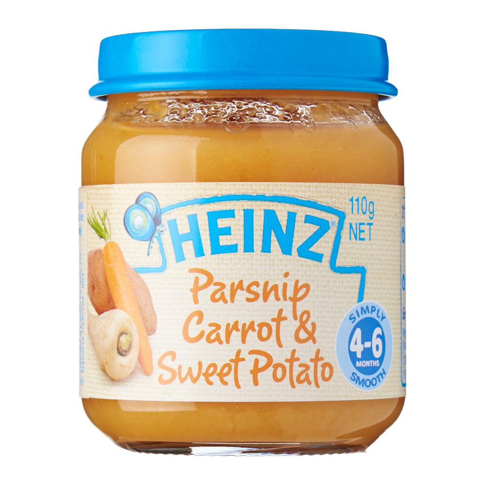 Heinz Parsnip Carrot And Sweet Potato Baby Food (6m+)