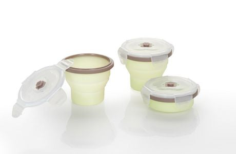 Silicone Containers 240ml x3