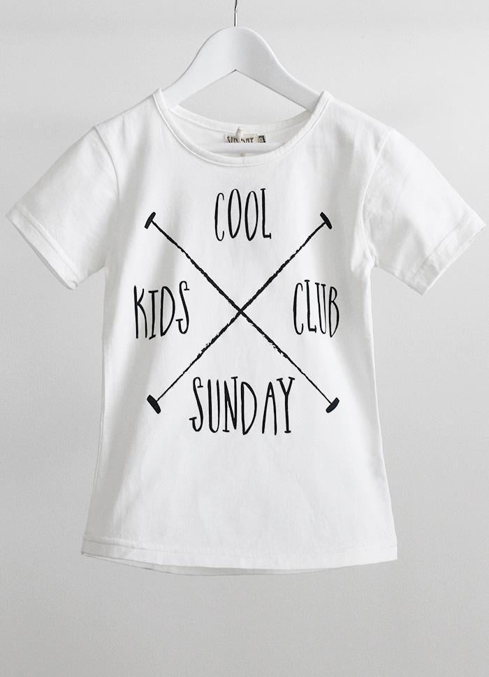SundayTheLabel - S/S Tee - Cool Kids Club