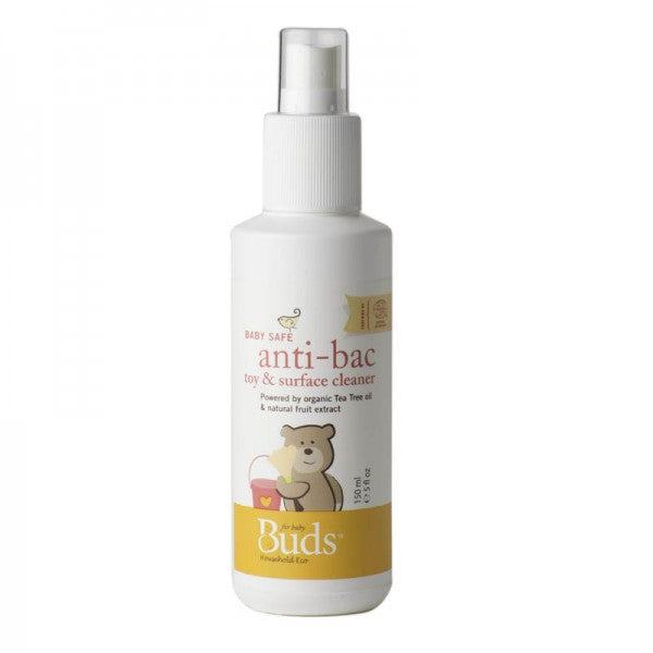 Buds - Baby Safe Anti - Bac Toy & Suface Cleaner -  150ml