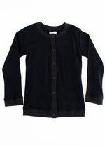 SundayTheLabel Round Neck Cardigan - Black
