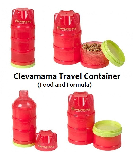 Clevamama Travel Container