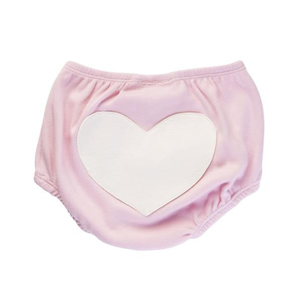 Jaime King for Sapling Dusty Pink Heart Bloomers