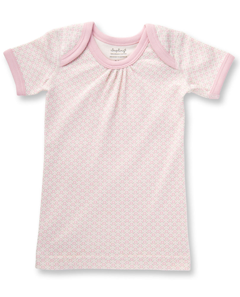 Jaime King  For Sapling - Short Sleeve T-Shirt - Pink