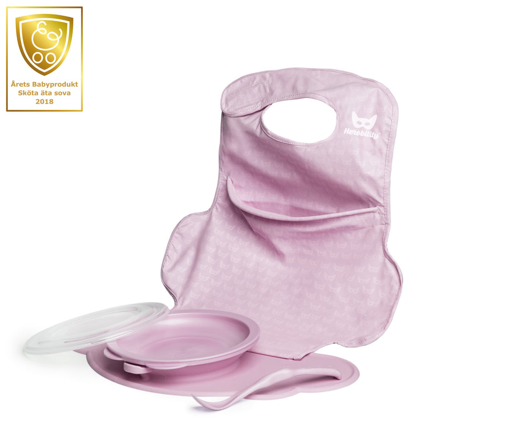 Eco Placemat Feeding Set - Pink