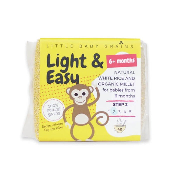 Little Baby Grains - Light & Easy w/ Organic Millet (6m+) 520g
