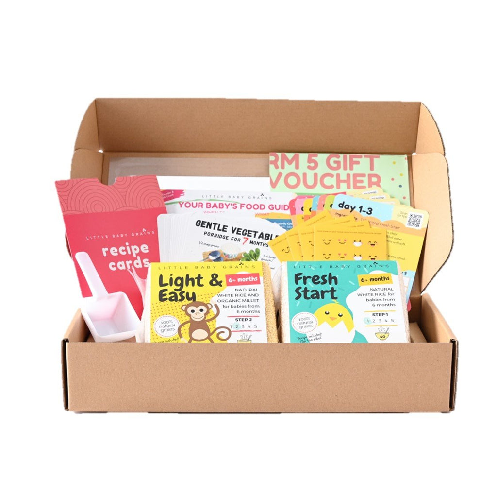 LBG Starter Kit for Babies from 6-8 Months