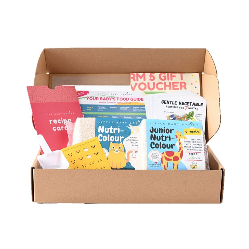 LBG Starter Kit for Babies from 9-12 Months