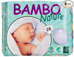 Bambo Nature Premium Baby Diapers, Size 1 (2-4kg)