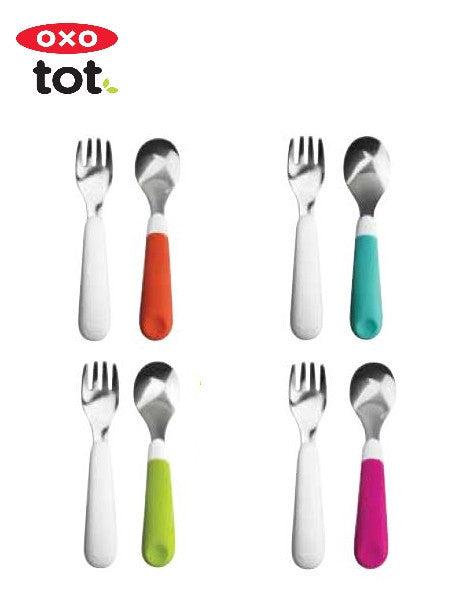 Oxotot Fork & Spoon Set