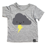 Whistle & Flute T-shirt - Storm Cloud