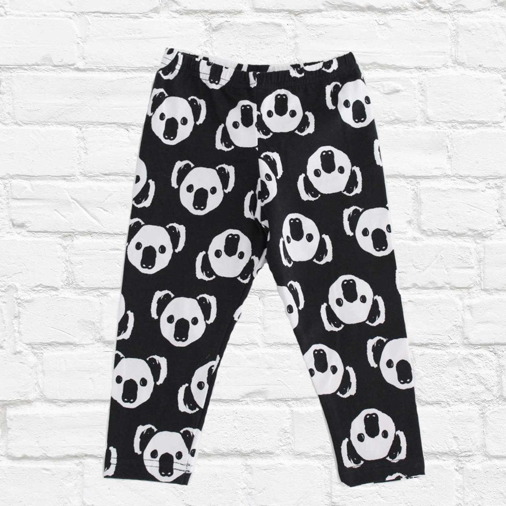 STL Classic Leggings - Panda Gang Black
