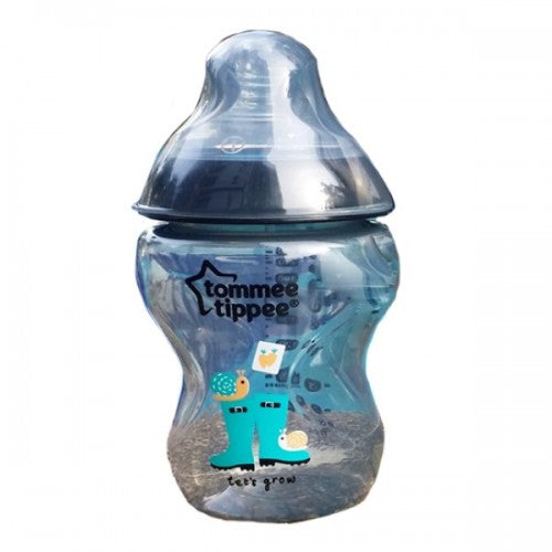 Tommee Tippee Decorated Feeding Bottle Green - 260ml