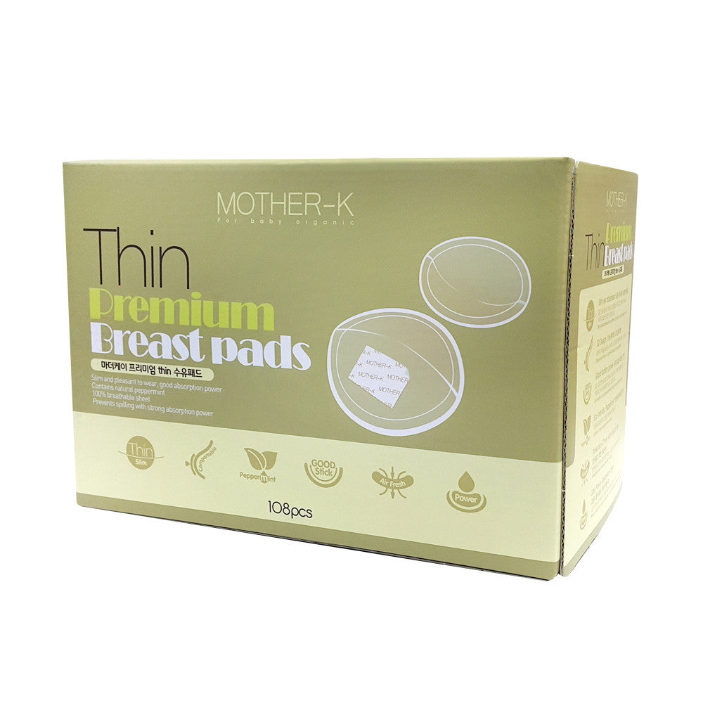 K-Mom Premium Thin Breastpads 108s