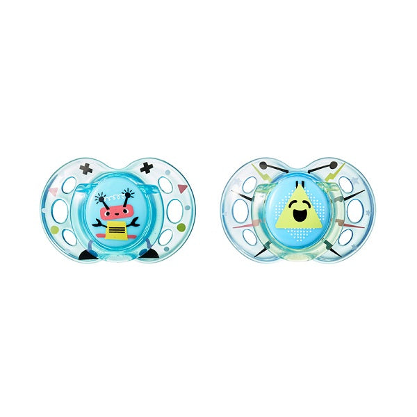 TT Air Style Soother 2pcs (6-18m) ON CLEARANCE