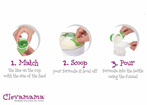 Clevamama - ClevaScoop Infant Formula Scoop