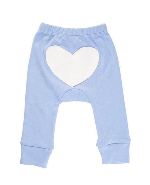 Jaime King for Sapling - Little Boy Blue Heart Pants