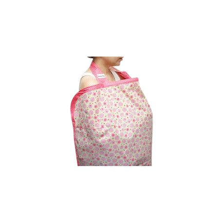 Beanie Nursing Cover - Candy Rose