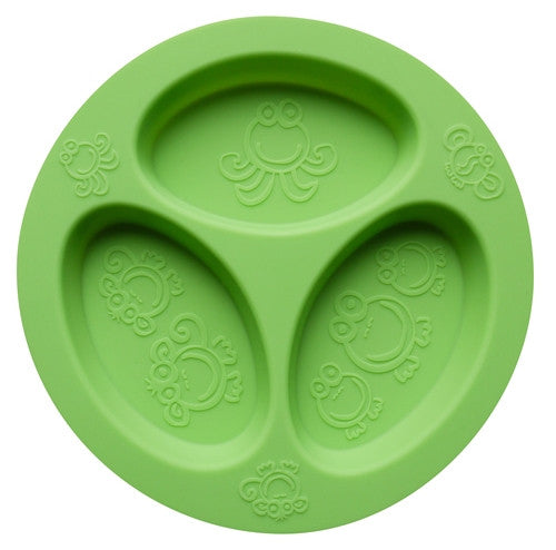 Oogaa - Silicone Divided Plates