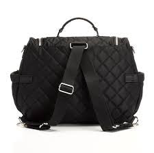 Poppy Charcoal Convertible Backpack