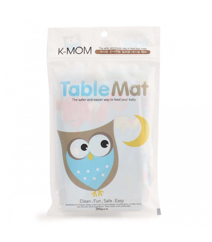 Kmom Disposable Table Mat ON CLEARANCE