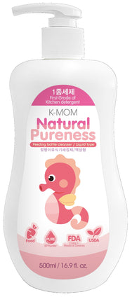 K-Mom USDA Organic Feeding Bottle Cleanser (500ml Liquid)