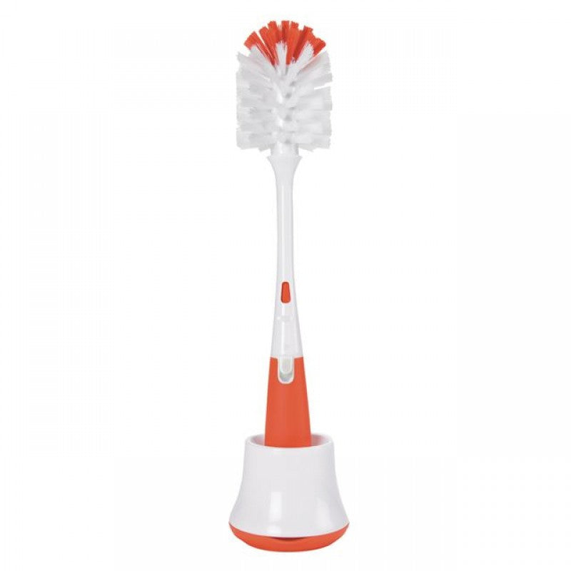 Bottle Brush With Nipple Cleaner And Stand