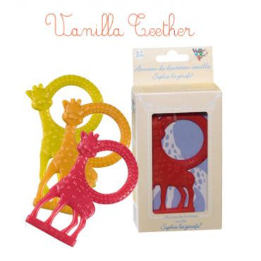 Sophie Vanilla Teether ON CLEARANCE