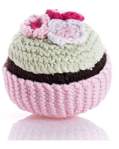 Pebble Rattle Cupcake