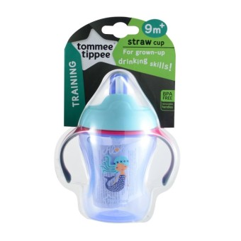 Tommee Tippee Easy Drink Straw Cup 230ml 9m+