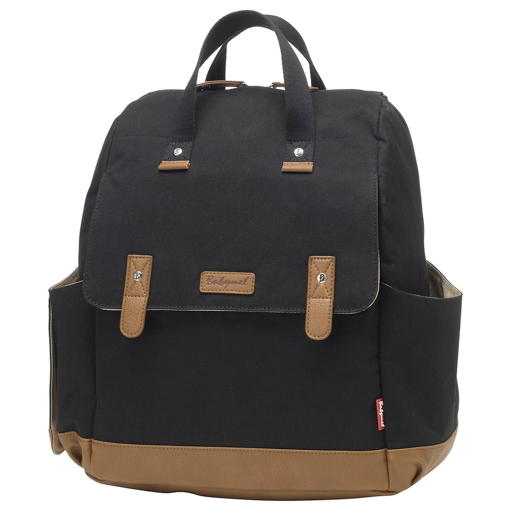 BABYMEL Robyn Convertible Backpack - Black