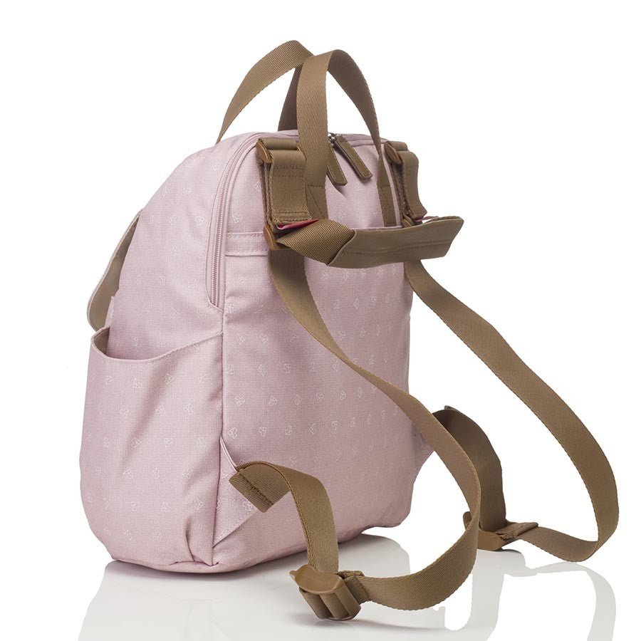 Robyn Convertible Backpack - Origami Heart Dusty Pink ON CLEARANCE
