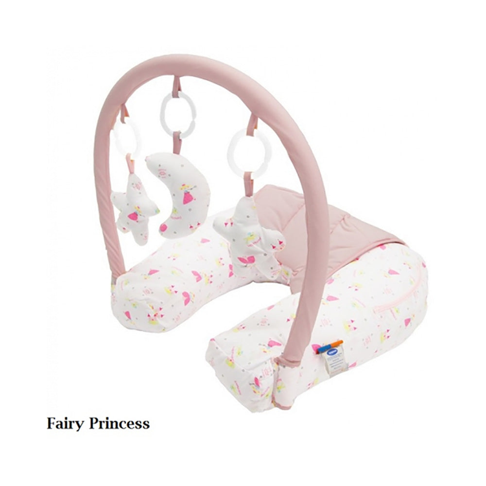 Nursing Pillow With Toy Bar