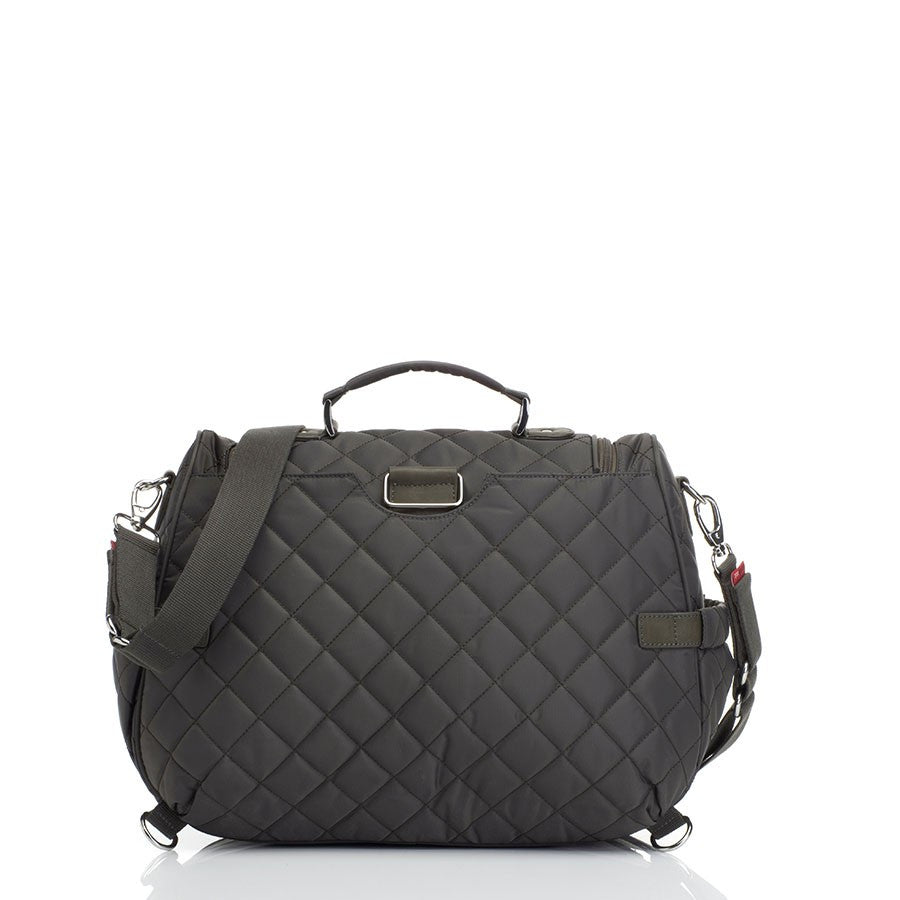 Storksak Poppy Charcoal Convertible Backpack