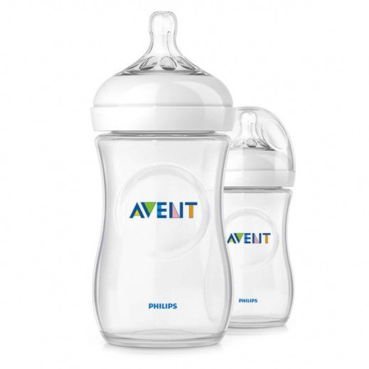 Phillips Avent Natural Feeding Bottle (Single Pack)