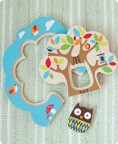 Zoo Nesting Tree Puzzle ON CLEARANCE