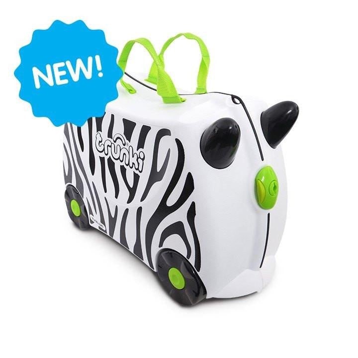 Trunki Suitcase - Zimba The Zebra