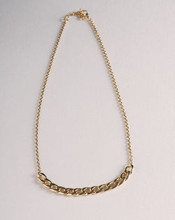 Collier Stella-waekura-bijoux plaque or