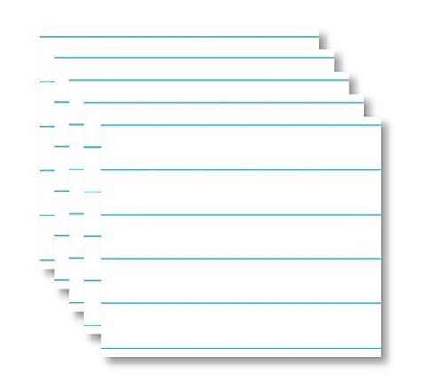 5-Pack Dry Erase Magnetic Notes / Notebook Design for Refrigerator. Perfect for To Do List or Daily Planner