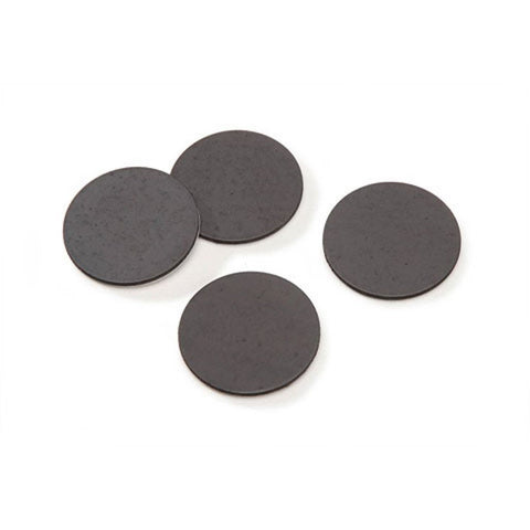 "Flexible Magnets 1"" Round Disc with Adhesive Backing - 50 Pcs"