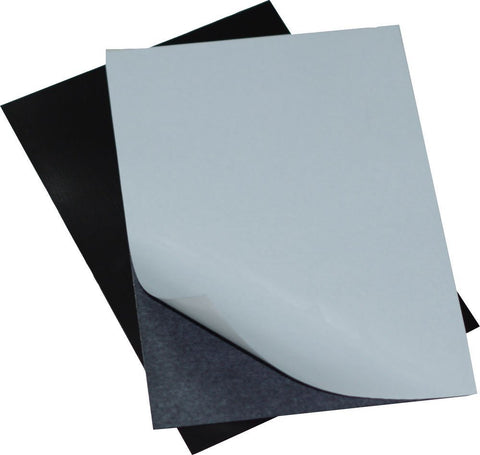"5 Adhesive Magnetic Sheets of 8"" x 10"" - 20 mil Thick"