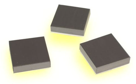 Foam Adhesive Square 1 Inch Magnets