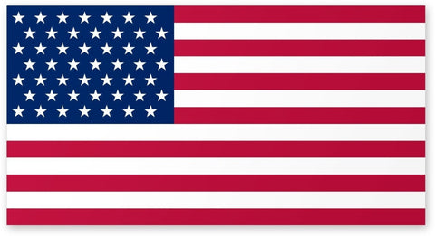 American Flag Car Magnet - 4 X 6 - Weather and Uv Resistant